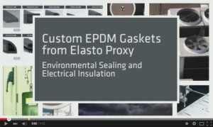 Custom EPDM Gaskets for Sealing and Insulation