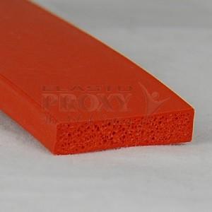 Foam Rubber Gasket - Orange