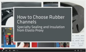 Rubber Channels from Elasto Proxy