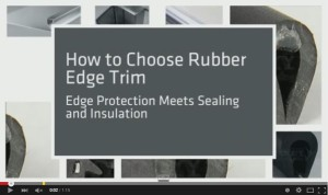 Video: Rubber Edge Trim from Elasto Proxy