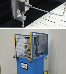 Water Jet Cutting and IR Splicing