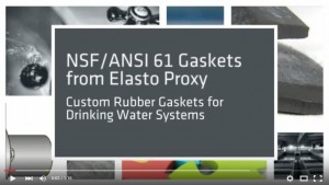 Video - NSF/ANSI 61 Gaskets for Drinking Water Systems