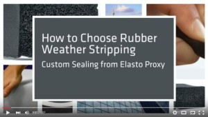 Video - How to Choose Rubber Weather Stripping