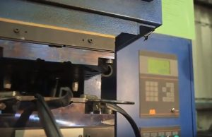 C-press injection molding