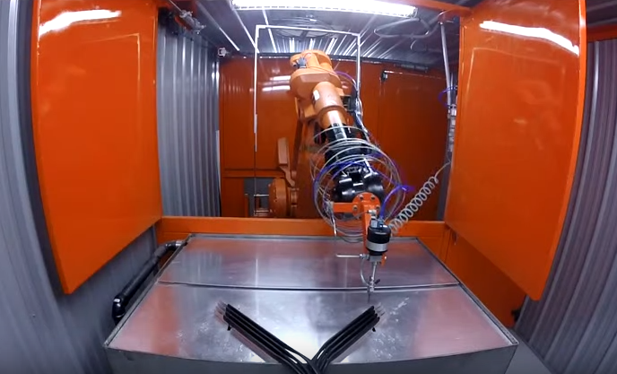 Six-Axis Abrasive Water Jet Cutting