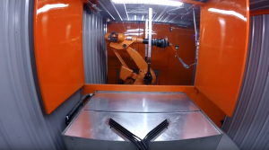 Six-Axis Abrasive Water Jet Cutting for Industrial Rubber Products