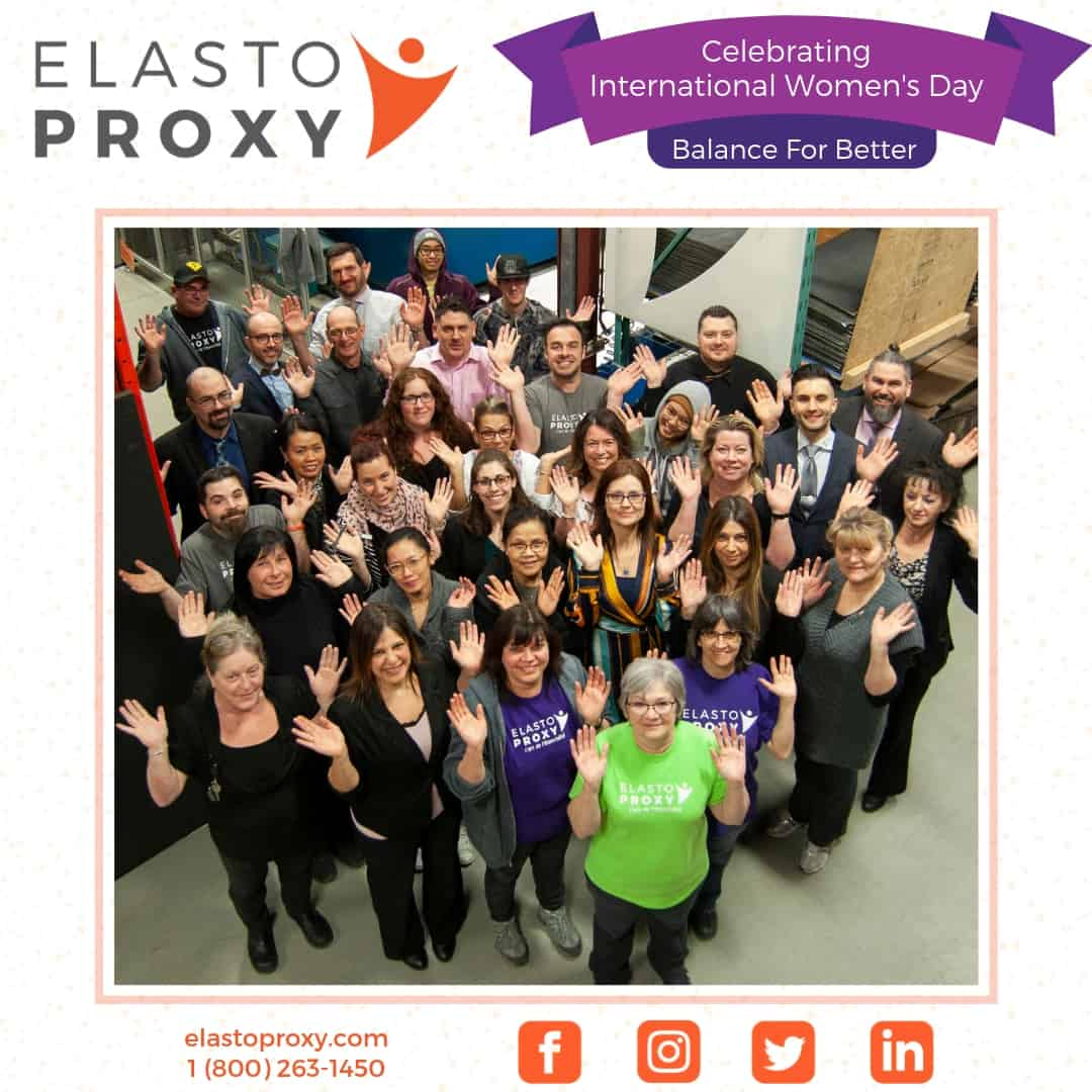 Elasto Proxy Honors Women in Manufacturing  During Week of International Women's Day