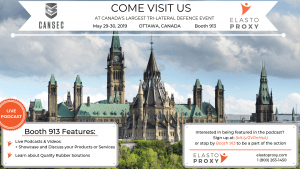 Elasto Proxy Plans Podcasts at CANSEC 2019