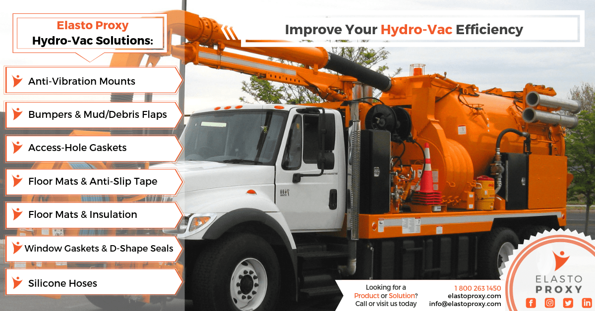 Hydro Vac Truck Parts: Rubber Gaskets, Seals and Insulation