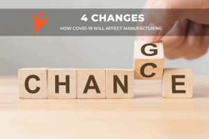 Read more about the article Le COVID-19 va changer la fabrication de produits de quatre (4) façons