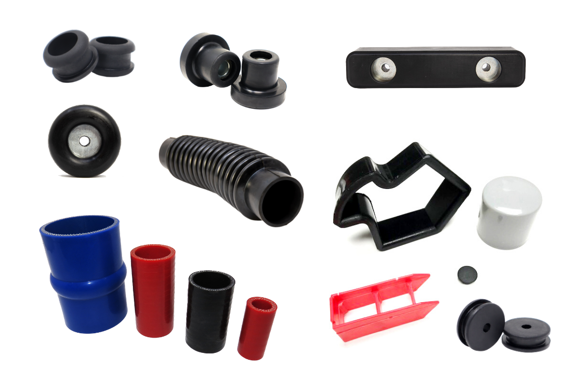 Molded Rubber Products and Molded Plastic Products