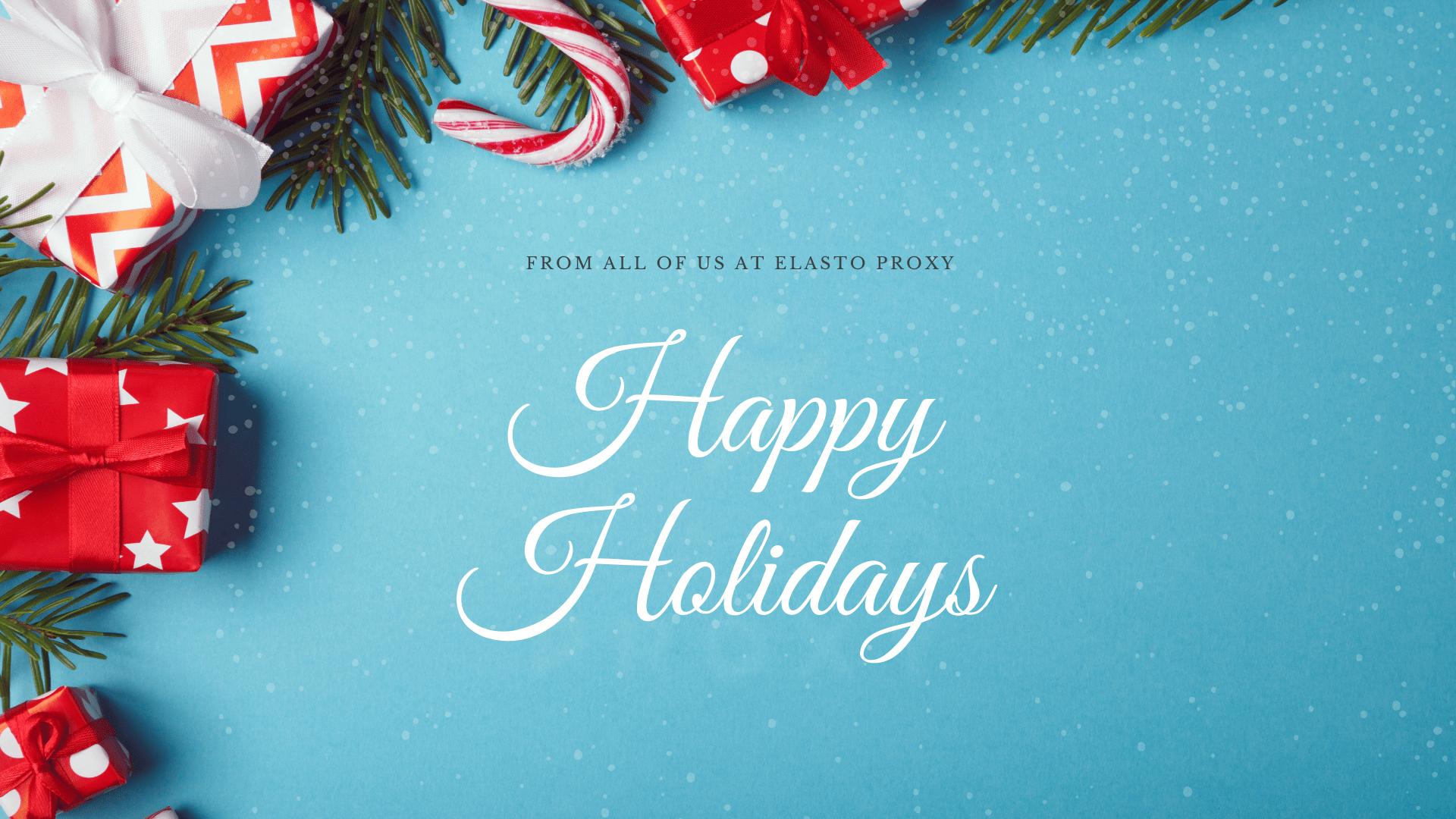 Happy Holidays – 2020