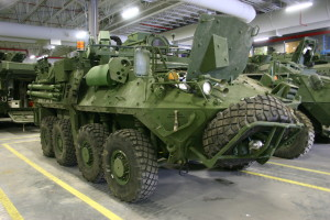 Military vehicles need high-quality rubber seals